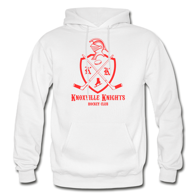 Knoxville Knights Coat of Arms Hoodie - white