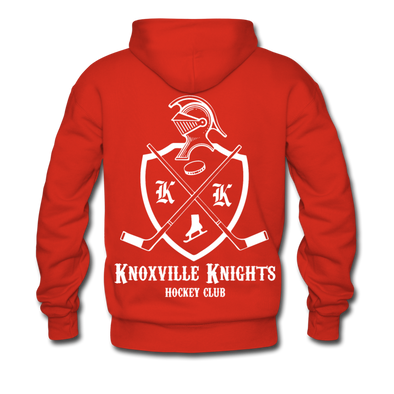 Knoxville Knights Double Sided Premium Hoodie - red