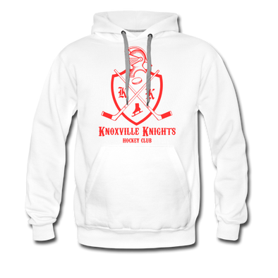 Knoxville Knights Coat of Arms Premium Hoodie - white