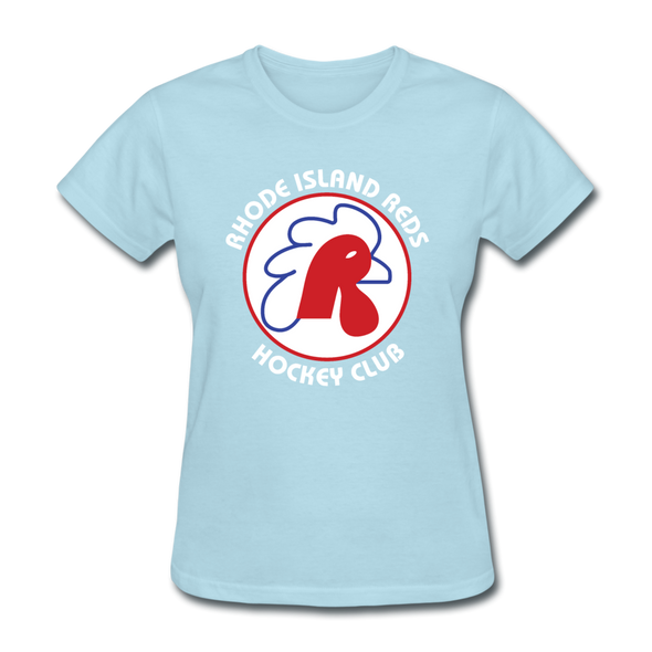 Rhode Island Reds Women's T-Shirt - powder blue