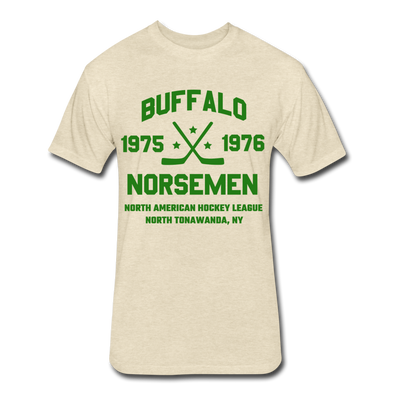 Buffalo Norsemen Dated T-Shirt (Premium) - heather cream