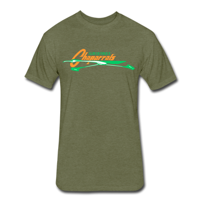 Albuquerque Chaparrals T-Shirt (Premium) New - heather military green