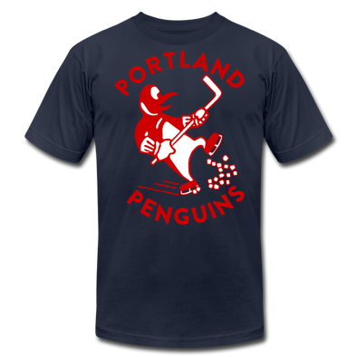 Portland Penguins T-Shirt ((Premium) - navy