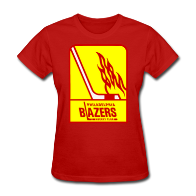 Philadelphia Blazers Women's T-Shirt - red