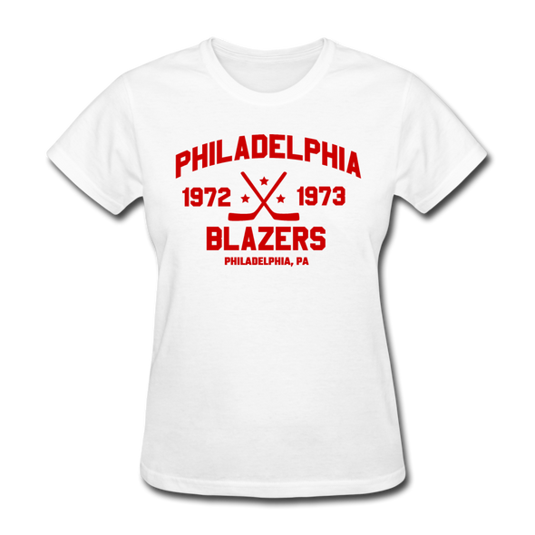 Philadelphia Blazers Dated Women's T-Shirt (WHA) - white