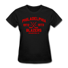 Philadelphia Blazers Dated Women's T-Shirt (WHA) - black