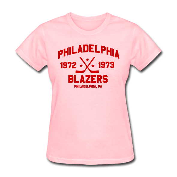 Philadelphia Blazers Dated Women's T-Shirt (WHA) - pink