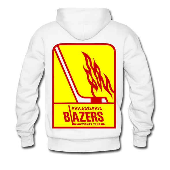 Philadelphia Blazers Double Sided Premium Hoodie - white