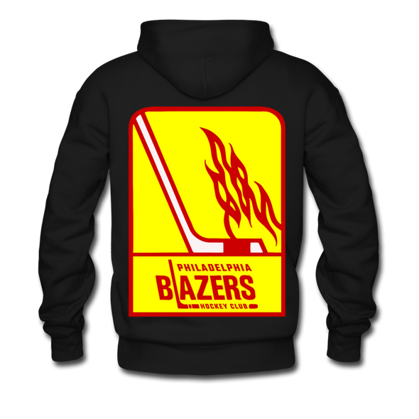 Philadelphia Blazers Double Sided Premium Hoodie - black