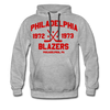 Philadelphia Blazers Double Sided Premium Hoodie - heather gray