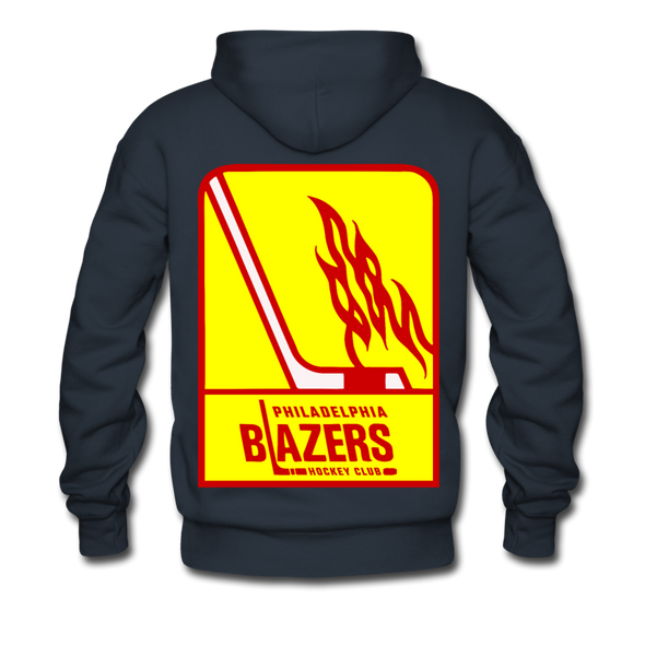Philadelphia Blazers Double Sided Premium Hoodie - navy