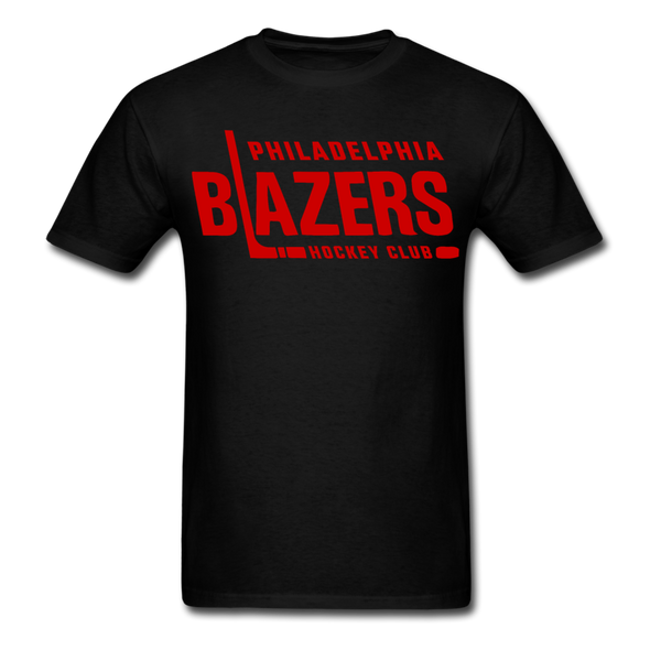 Philadelphia Blazers Text T-Shirt - black