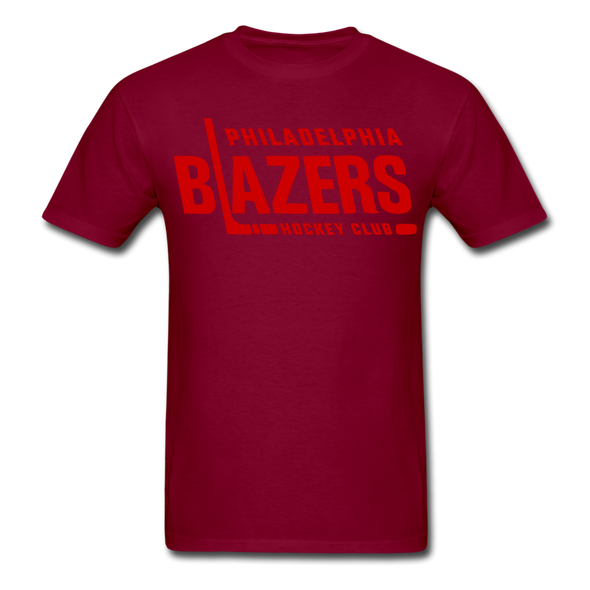 Philadelphia Blazers Text T-Shirt - burgundy