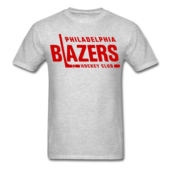 Philadelphia Blazers Text T-Shirt - heather gray