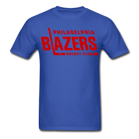 Philadelphia Blazers Text T-Shirt - royal blue