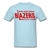 Philadelphia Blazers Text T-Shirt - powder blue