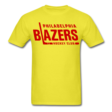 Philadelphia Blazers Text T-Shirt - yellow