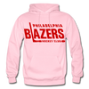 Philadelphia Blazers Text Hoodie - light pink