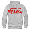 Philadelphia Blazers Text Hoodie - heather gray