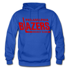 Philadelphia Blazers Text Hoodie - royal blue