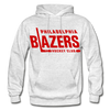 Philadelphia Blazers Text Hoodie - light heather gray
