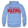 Philadelphia Blazers Text Hoodie - carolina blue
