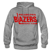 Philadelphia Blazers Text Hoodie - graphite heather