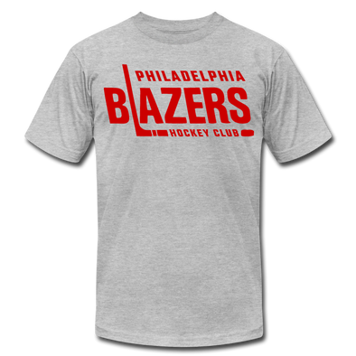 Philadelphia Blazers Text T-Shirt (Premium) - heather gray