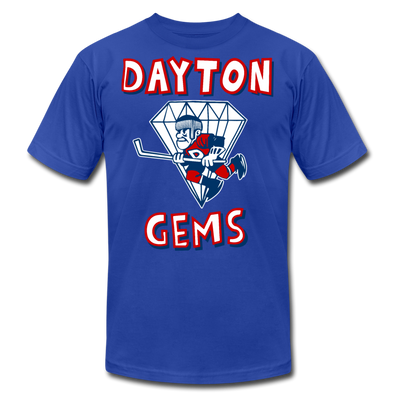 Dayton Gems T-Shirt (Premium) - royal blue