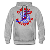 Omaha Knights Hoodie (Premium) - heather gray
