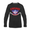 Chicago Americans Long Sleeve T-Shirt - black
