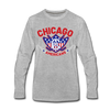 Chicago Americans Long Sleeve T-Shirt - heather gray