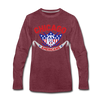 Chicago Americans Long Sleeve T-Shirt - heather burgundy
