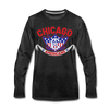 Chicago Americans Long Sleeve T-Shirt - charcoal gray