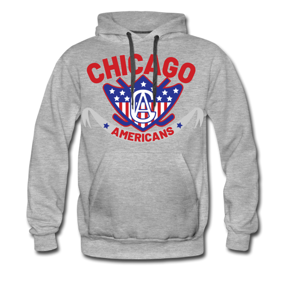 Chicago Americans Hoodie (Premium) - heather gray