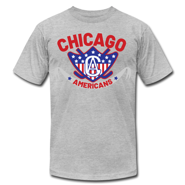 Chicago Americans T-Shirt (Premium) - heather gray
