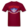 Chicago Americans T-Shirt - burgundy