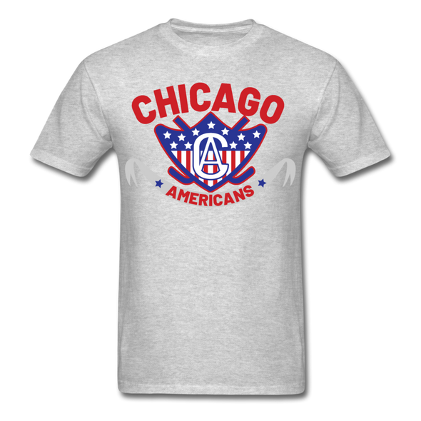 Chicago Americans T-Shirt - heather gray
