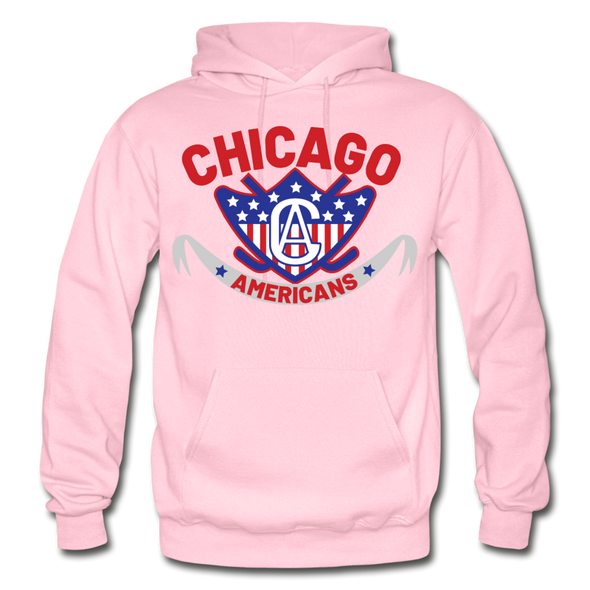 Chicago Americans Hoodie - light pink