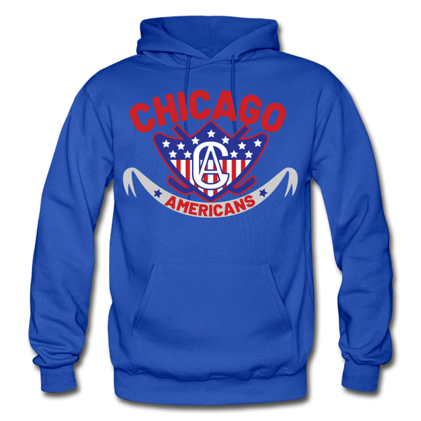 Chicago Americans Hoodie - royal blue