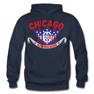 Chicago Americans Hoodie - navy