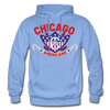 Chicago Americans Hoodie - carolina blue