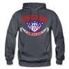 Chicago Americans Hoodie - charcoal gray