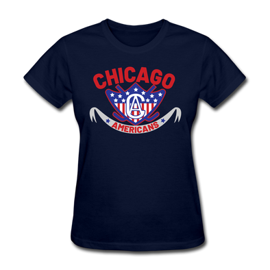 Chicago Americans Women's T-Shirt - navy