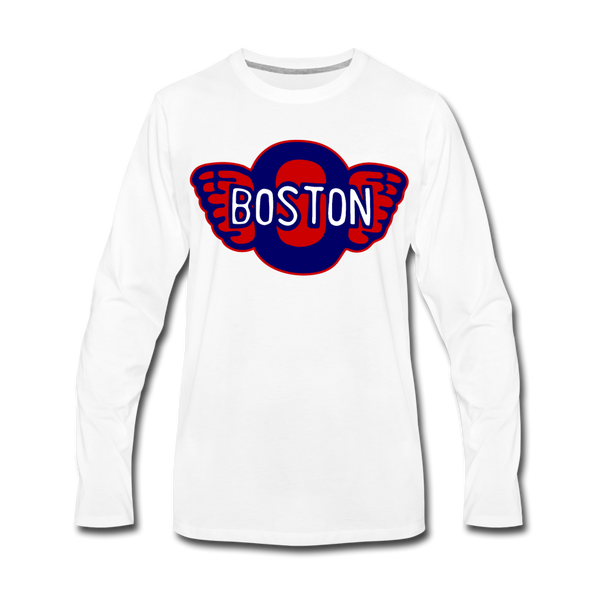 Boston Olympics Long Sleeve T-Shirt - white