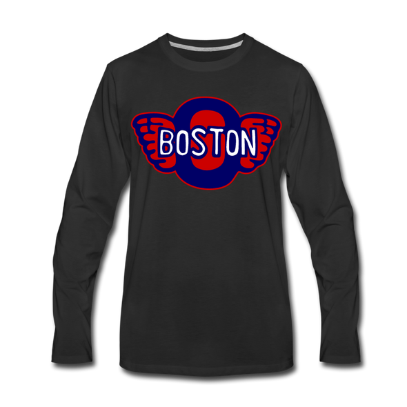 Boston Olympics Long Sleeve T-Shirt - black
