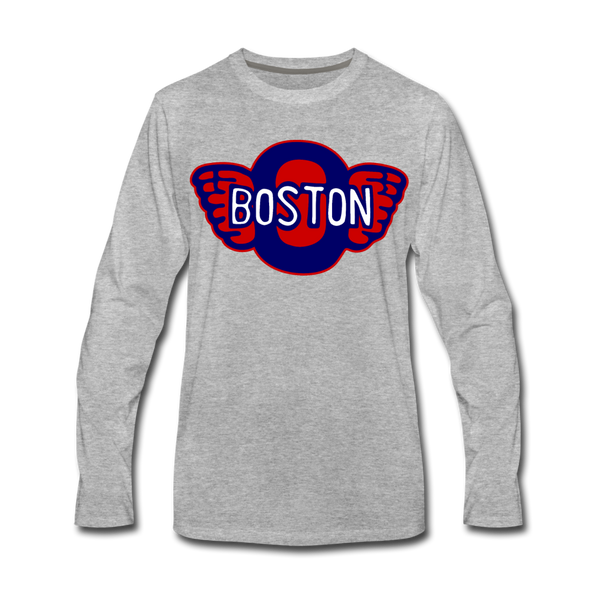 Boston Olympics Long Sleeve T-Shirt - heather gray
