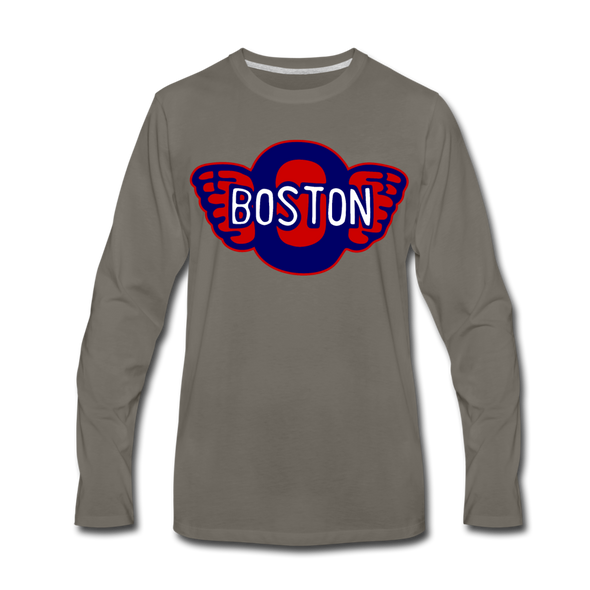 Boston Olympics Long Sleeve T-Shirt - asphalt gray