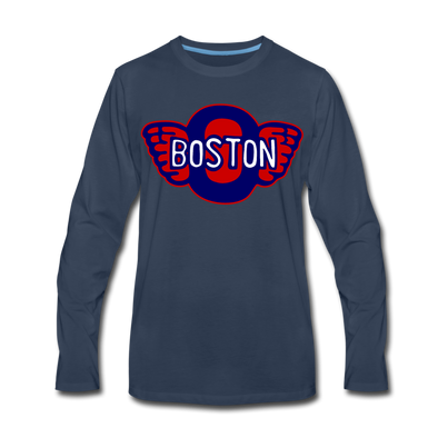 Boston Olympics Long Sleeve T-Shirt - navy