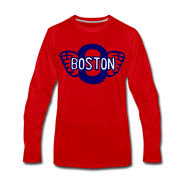 Boston Olympics Long Sleeve T-Shirt - red